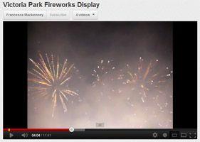 Victoria Park fireworks display