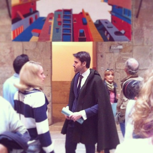 Dom Capucha spotted at Eudóxia vernissage!  Congratulations @anaaragao &…