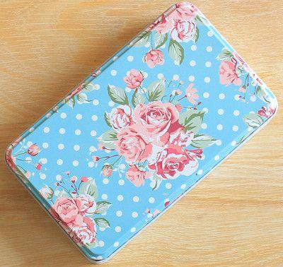 NOVO Escritório caixas de artigos de papelaria do desktop cartão postal caixa de lata zakka caixas de biscoito/caixa de lápis/caixa de ferro 193X115X54 MM TH15110801 1 pçs/set em Ciaxas de armazenamento & lixo de Home & Garden no AliExpress.com | Alibaba Group