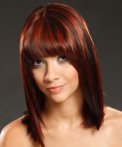 Dark Brown Hair With Red Highlights | 25 Nicest Brown Hair With Red Highlights | CreativeFan
