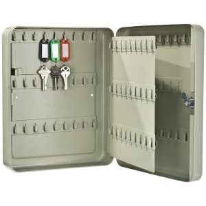 Locked Key Storage Cabinet