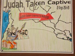 Hands On Bible Teacher: Judah Goes Into Captivity in Babylon