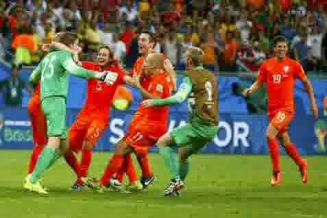 Perkiraan Skor Pertandingan Semi-Final World Cup 2014 : Belanda vs Argentina