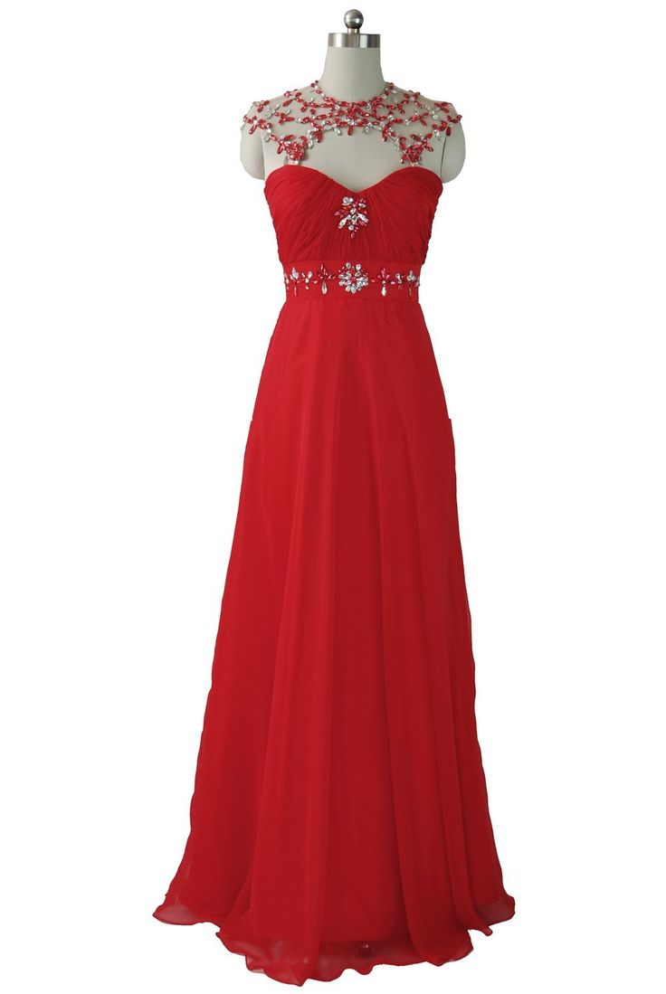 cheap red evening gowns #4   Style Izzie