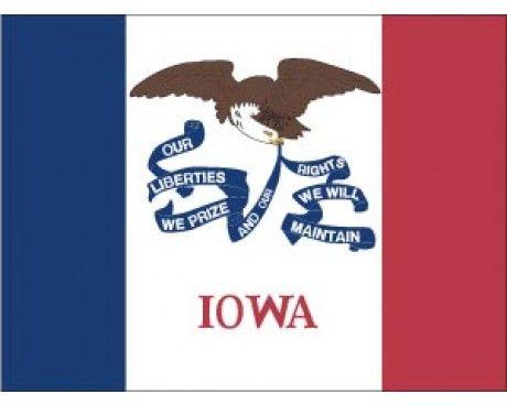 Iowa Flag - Outdoor