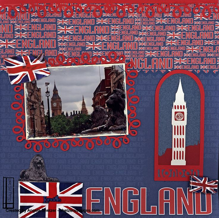 London England - Scrapbook.com