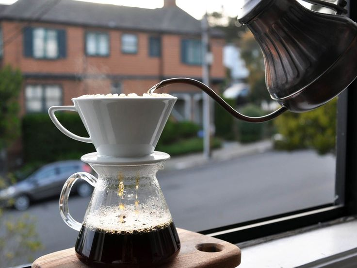 Coffee Science: How to Make the Best Pourover Coffee at Home   Man Made DIY   Crafts for Men   Keywords: drink, coffee, food, DIY