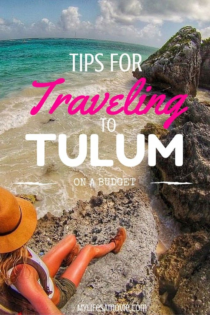 Tips for Traveling to Tulum on a Budget! You can easily rent a car for super cheap in Mexico, and use it to create your own budget roadtrip itinerary around Tulum!