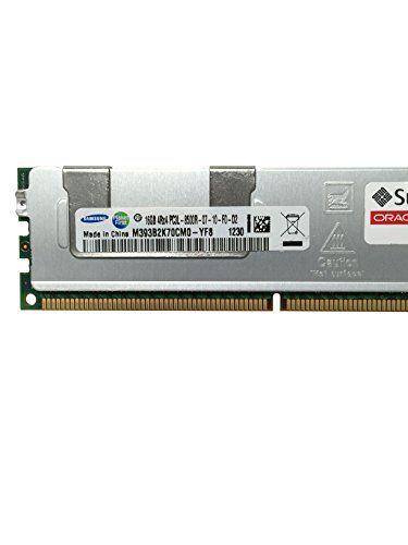 Buy Sun Oracle Certified Samsung Original 16GB (1x16GB) PC3-8500 1066MHz DDR3 ECC Registered CL7 DIMM 4Rx4 1.35v Server Memory Upgrade M393B2K70CM0-YF8 NEW for 278 USD   Reusell
