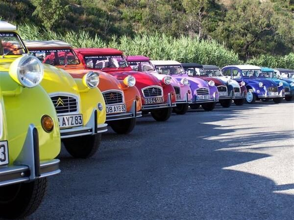 What's your favourite #Citroen #2CV colour?
