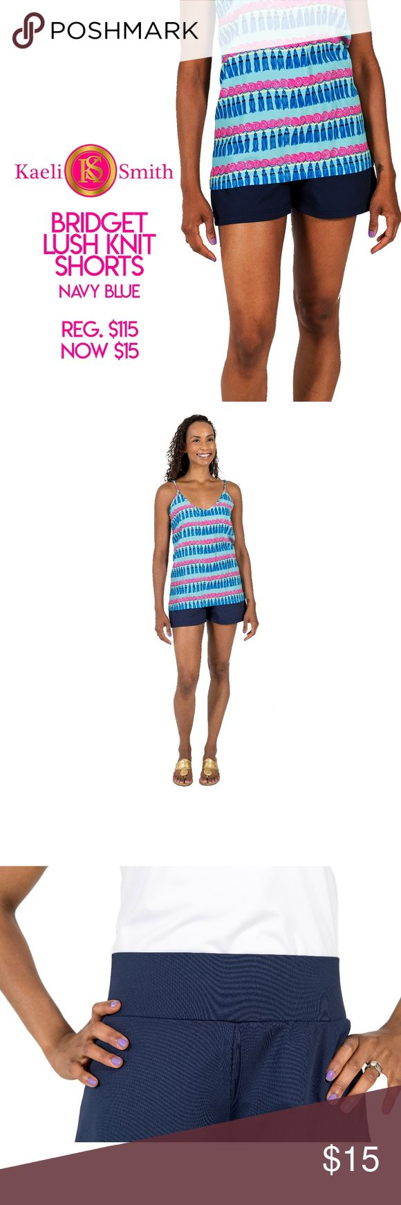 """*NWT* Kaeli Smith """"Bridget"""" Shorts With easy and comfortable pull-on style, our Bridget Short will become a staple of your warm weather, vacation and resort wear wardrobe. The thick waistband resists rolling and our signature Lush Knit fabric moves with you throughout a busy day.   No-roll waistband sits between natural waist and hips Modest flair to the hem Signature Lush Knit performance fabric UPF 50 Will not fade Wrinkle-free Machine wash, no bleach, cool iron if needed Polyester/Spandex…"""