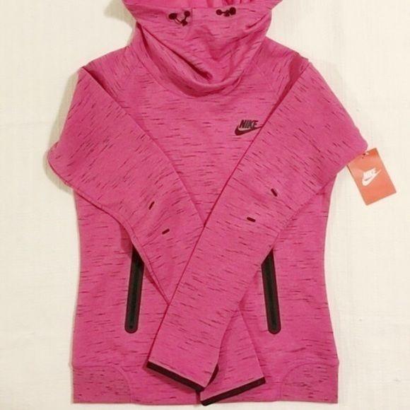 Women's Nike tech fleece hoodie Medium NEW Women's Nike tech fleece hoodie Medium NEW. Style 642663. Nike Sweaters