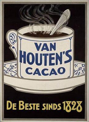 """Mmmmh heerlijk """"modderen"""", mijn vader helpen met de cacao te mengen met een beetje water en suiker. Daarna pas de hete melk."""