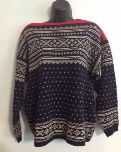 Vintage Figgio Virgin Wool Cardigan Sweater Size 44 Hecht Co Norway Circa 60s in Clothing, Shoes & Accessories | eBay