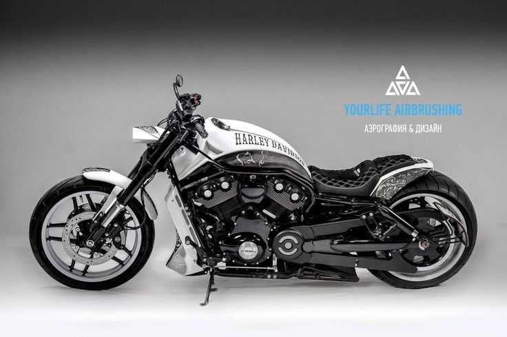 Custompaint Harley-Davidson V-Rod
