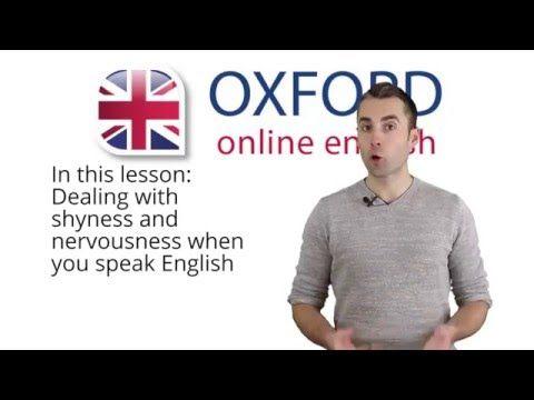 """I Feel Shy When I Speak English"" - Video Lesson | Oxford Online English"