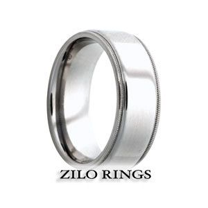 Hermes, Tungsten Ring Price: $271.62 (You save $135.83)