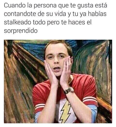 ★★★★★ Memes de risa para whatsapp: Cuando ya habías stalkeado a alguien I➨ http://www.diverint.com/memes-risa-whatsapp-habias-stalkeado-alguien/ →  #imágenesdememessúpergraciosos #internetmemesenespañolchistosos #losmemesmásdivertidosdelmundo #memeschistososparadescargar #memesdivertidosparawhatsapp