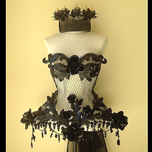 Image of DEMISE OF THE QUEEN Steel Corset - sometimes something catches my imagination on those FB ads