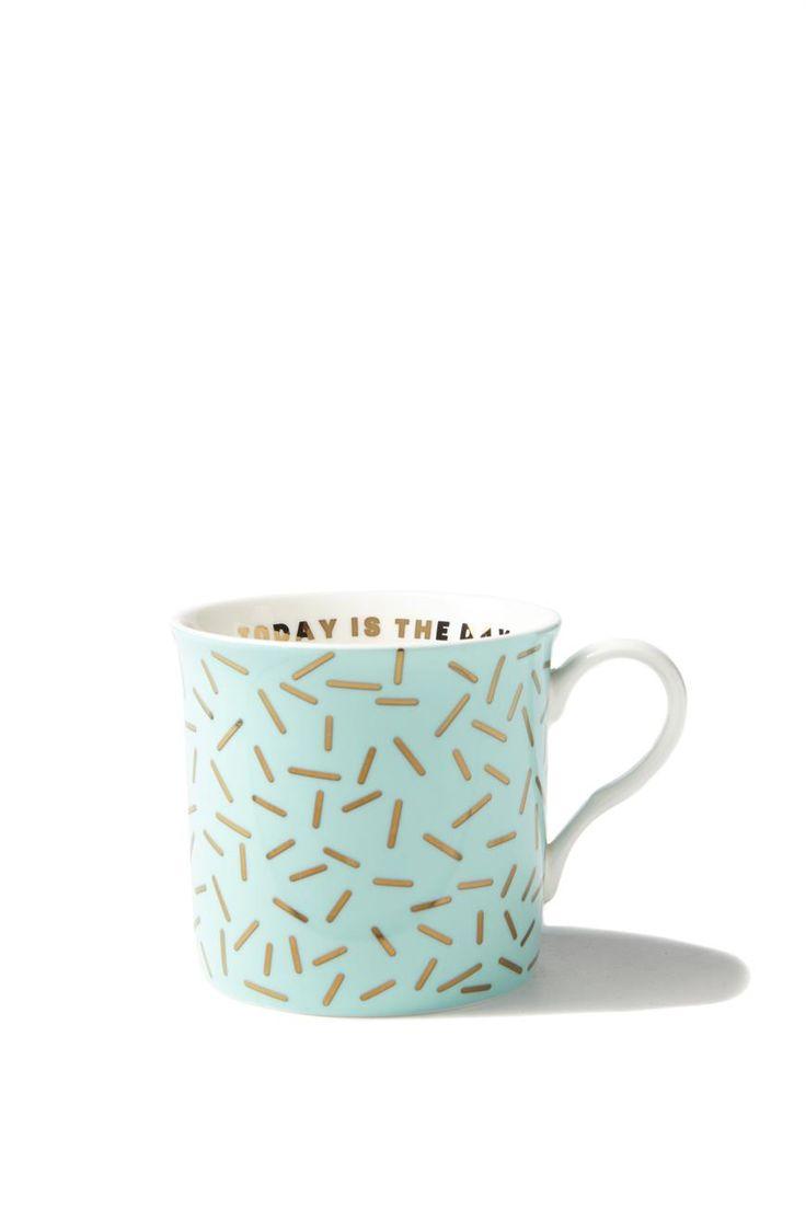 such a mug, GOLD SPRINKLES