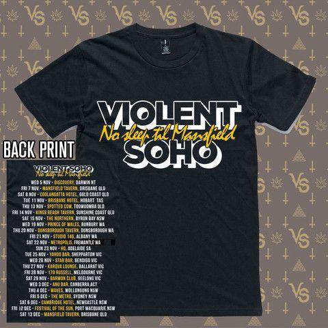 No Sleep Til Mansfield Tour (T-Shirt)