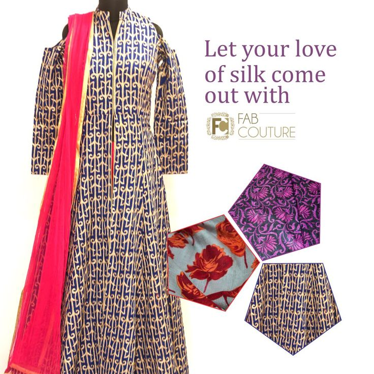 Let your love for silk come out with #FabCouture! #DesignerFabric at #AffordablePrices.  Buy your stock of fabric from: https://fabcouture.in/catalogsearch/result/?q=raw+silk #RawSilk #DesignerDresses #Fabric #Fashion #DesignerWear #ModernWomen #DesiLook #Embroidered #WeddingFashion #EthnicAttire #WesternLook #affordablefashion #GreatDesignsStartwithGreatFabrics #LightnBrightColors #StandApartfromtheCrowd #EmbroideredFabrics