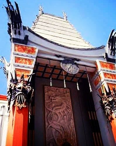 GRAUMAN'S CHINESE THEATRE My #ThrowbackThursday to about a decade ago when I lived in Hollywood Los Angeles...California  . Located on the historic Hollywood Walk of Fame and Originally known as Grauman's Chinese Theatre it was renamed Mann's Chinese Theatre in 1973; the name lasted until 2001 after which it reverted to its original name. On January 11 2013 Chinese electronics manufacturer TCL Corporation purchased the naming rights to the facility making its official name TCL Chinese…