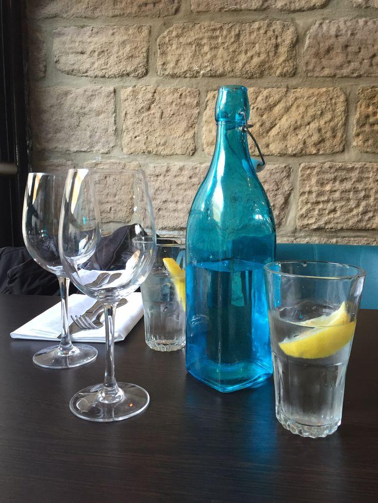 Yorkshire water at West Park Hotel Harrogate