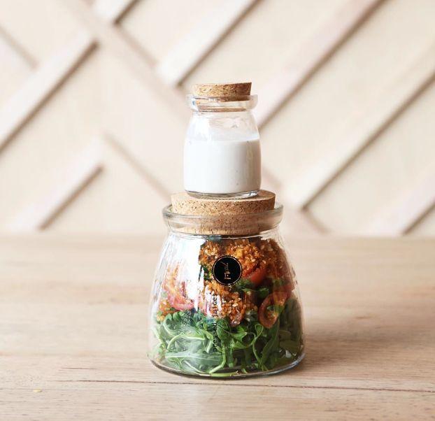 Raw Mexican salad