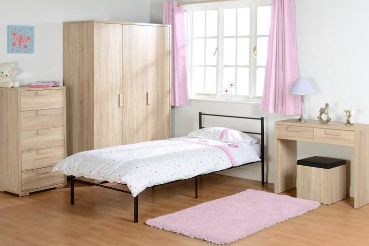 Cambourne 2 Drawer Dressing Table Set in Sonoma Oak Effect #DressingTablesets #DressingTables #Dressing
