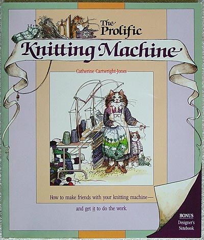"""Link to a book review of  """"The Prolific Knitting Machine"""" by Catherine Cartwright-Jones. The review is in German and English, by kind permission from Kerstin of the Strickforum blog."""
