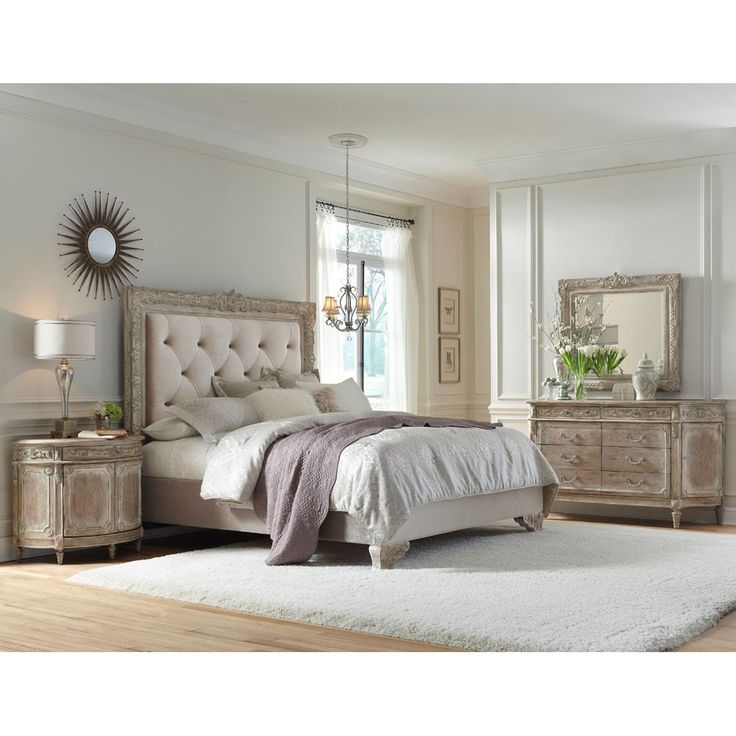 Shabby Chic Bedroom Set Part - 17: Pulaski Furnitureu0027s Accentrics Home Brings You The Ardenay Bedroom  Furniture Set By Humble Abode. Fine