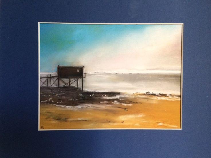 image.jpeg (Peinture) par freddie33 Carrelet dans la brume