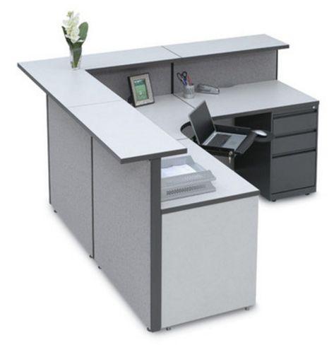 modern reception desk storlie furniture