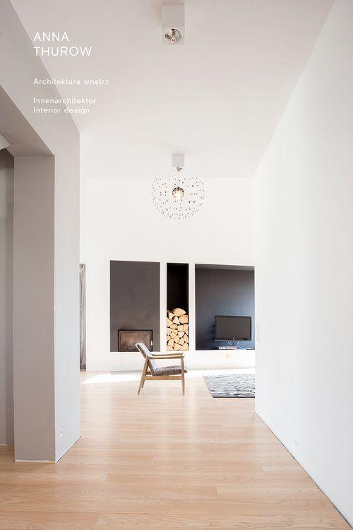 modern black fireplaces ideas nowoczesny czarny kominek designed by: annathurow.pl