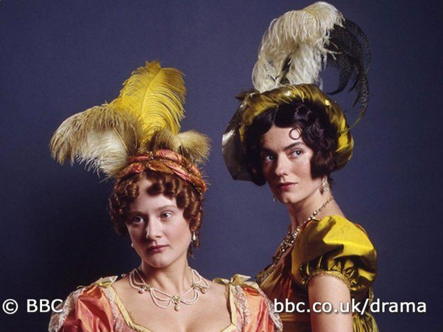 IT really burns me they cut out one of the sisters in the new movie.     Still of Anna Chancellor and Lucy Robinson in Pride and Prejudice