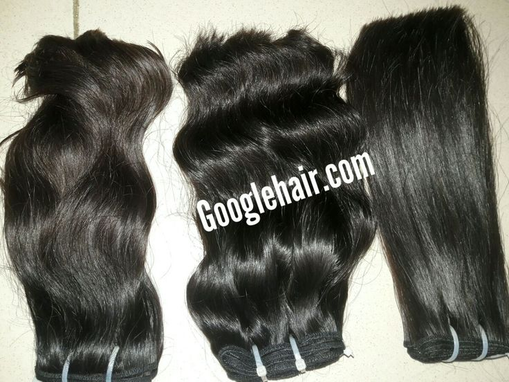 Double 100% Machine Weft Hair With Straight, Wavy Hair Real Hair Extensions