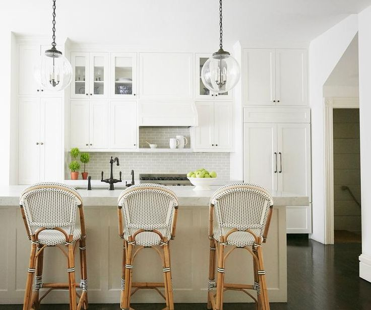 Welcoming White Kitchen Is Illuminated By Regina Andrew