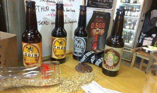 cervezas artesanales, Tienda: La buena Pinta en Madrid en el Mercado de San fernando