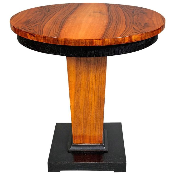 art moderne furniture. art deco walnut table moderne furniture i