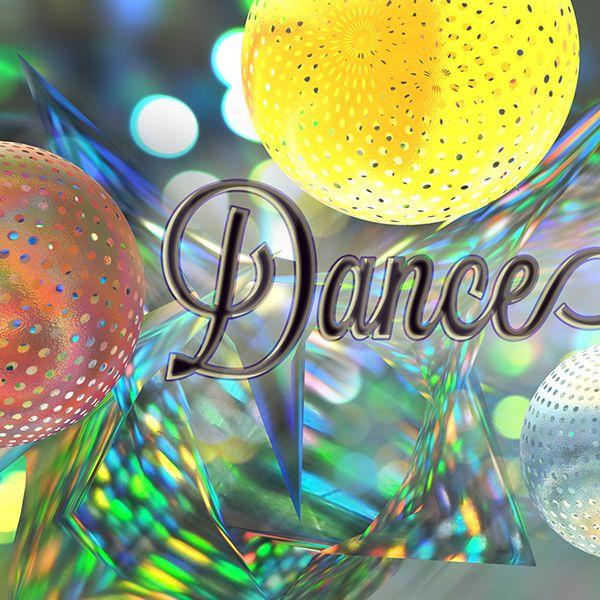Poster / Dance all night by Stas Do Design, via Behance