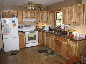 Denver Hickory Stock Custer Traditional Kitchen Other Metro Lowe S Of