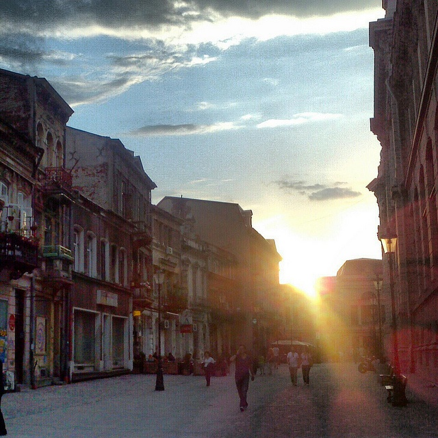 Bucharest-Old City by metela, via Flickr