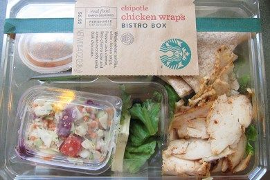 Starbucks Bistro Box: A Grab and Go Under 500 Calorie Lunch