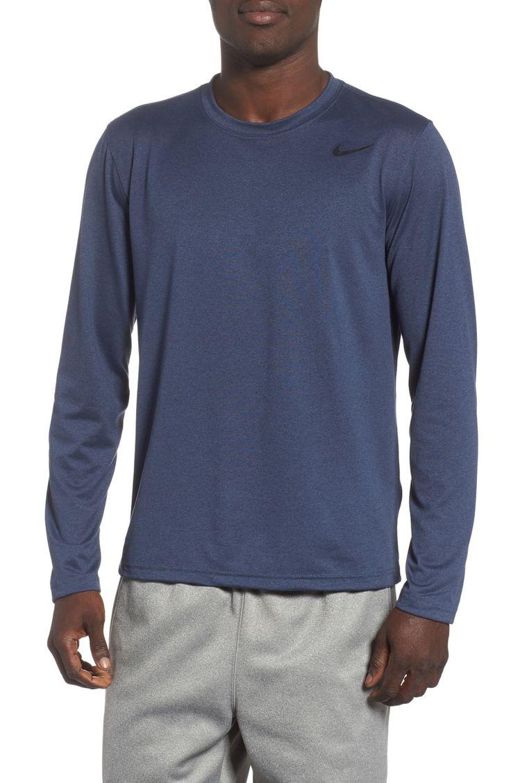 Nike legend 20 long sleeve drifit training tshirt