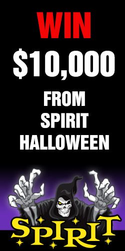 Win $10,000 from Spirit Halloween