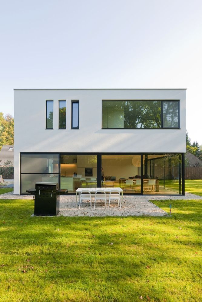 55 best nouvelle construction moderne images on for Frais nouvelle construction
