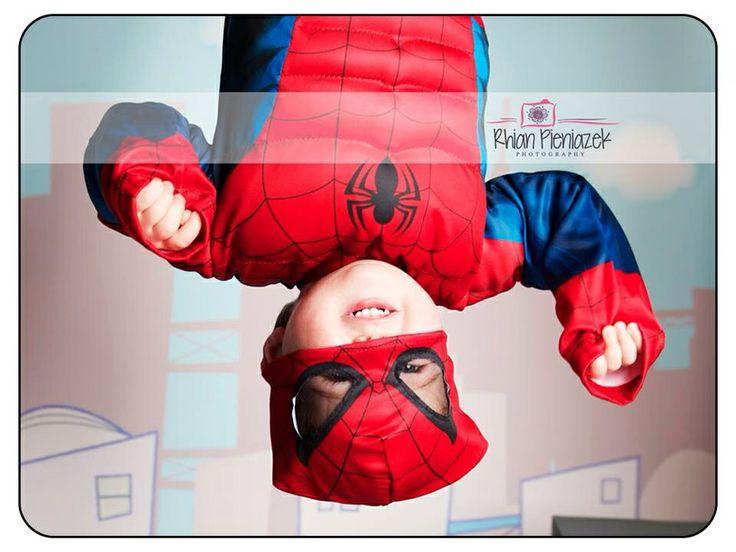 Superhero Mini Session. Spider-Man. Toddler. Rhian Pieniazek Photography.