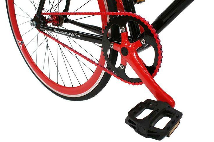 Pedalier #bicicleta #fixie Urbanfixstyle Heartbeat