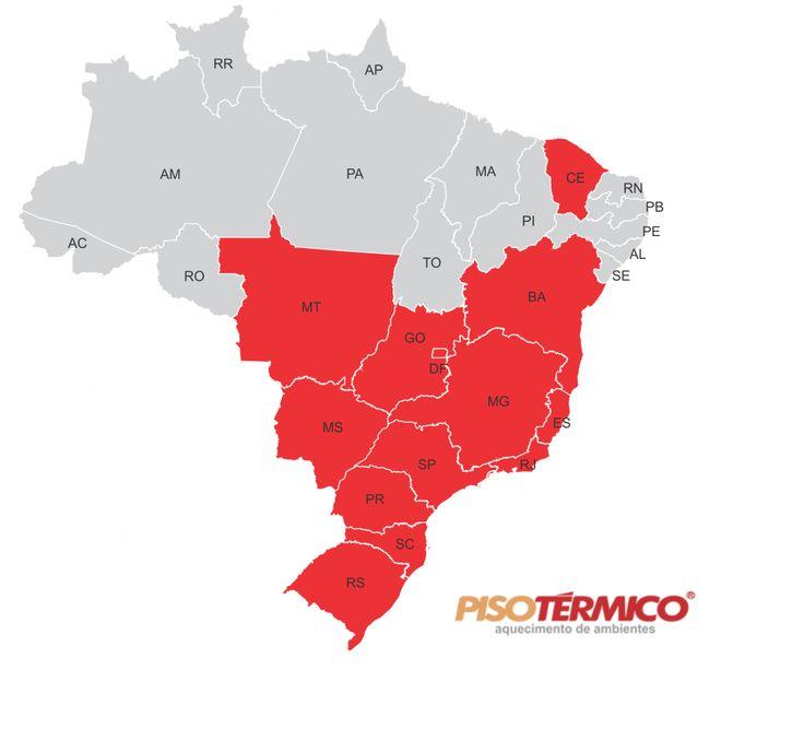 São mais de 2.000 lares espalhados pelo Brasil, com o Piso Térmico instalado!
